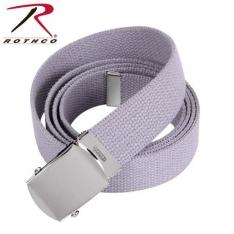 e4853e103 Rothco Military Web Belts- 44 Inch Chrome/Grey