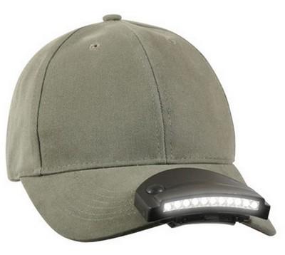 Led Cap Light 11 Led Clip On Hat Light Army Navy Shop