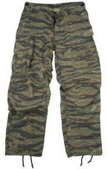 Vintage Paratrooper Fatigues Camouflage Military