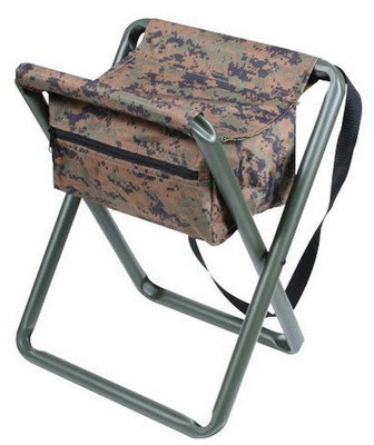 Marvelous Deluxe Folding Camp Stool Woodland Digital Camo Squirreltailoven Fun Painted Chair Ideas Images Squirreltailovenorg