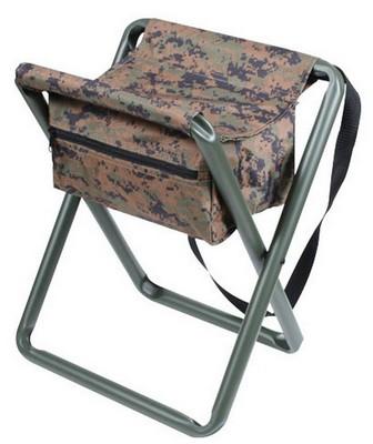 Sensational Deluxe Folding Camp Stool Woodland Digital Camo Pdpeps Interior Chair Design Pdpepsorg