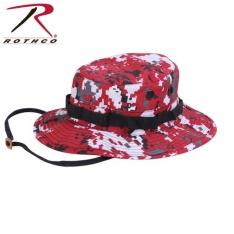 9ebb29dd6 Rothco Boonie Hat - Digital Red Camo