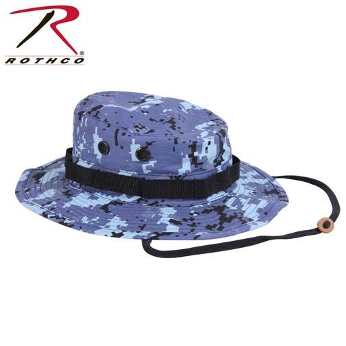 Rothco Boonie Hat Digital Sky Blue Camo Army Navy Shop