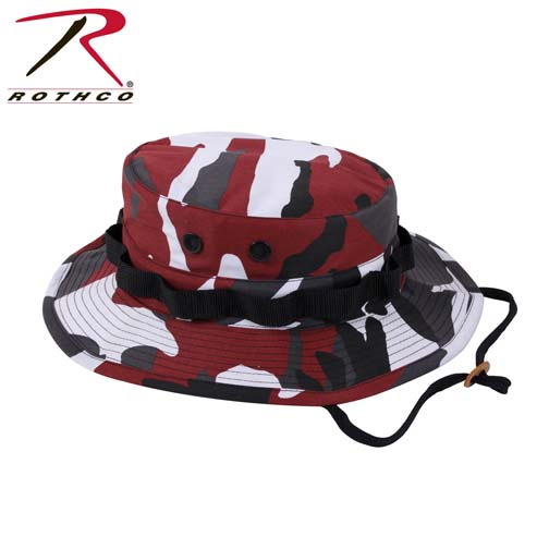 Rothco Boonie Hat Red Camo Army Navy Shop