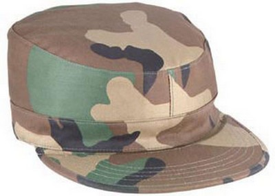 Camouflage Army Ranger Fatigue Caps Woodland Camo Cap
