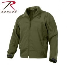 653dc1068 Rothco Covert Ops Lt Wt Soft Shell Jacket - Olive Drab-Size 2XL