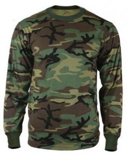 Kids Camouflage T-Shirts Childs Classic Woodland Camo Shirt Little Boys Camo Short Sleeve Crew Tee, 2T-7T