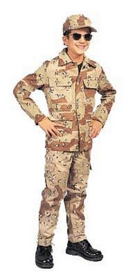 Kids Desert Camouflage Pants Boys Fatigues Bdu Size 2 Army Navy Shop