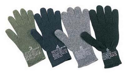GI Wool Glove Liners Military Gloves