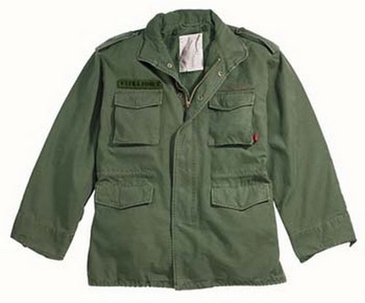 Military Jackets Olive Drab Vintage M-65 Field Jacket 2XL  Army Navy ... ca116febc80