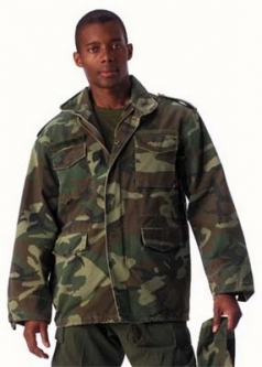 Camouflage Jackets Military Coats Army Outwear