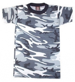 122ead83d Kids Camouflage Shirts Camo T-Shirts for Children