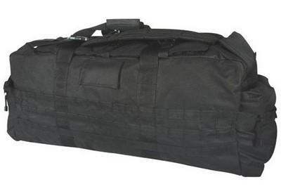 Jumbo Military Patrol Bags Black Bag