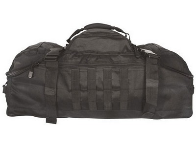 3-In-1 Recon Military Gear Bags Black  Army Navy Shop 3d85a10759601