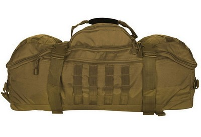 Coyote Brown Military 3-In-1 Recon Gear Bag