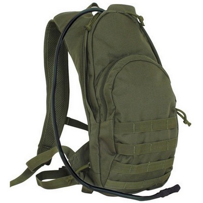 Compact Modular Hydration Backpacks Olive Drab