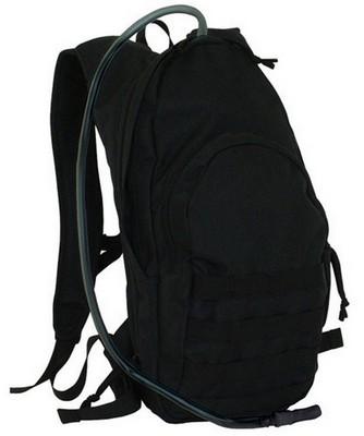 Compact Modular Hydration Backpacks Black Pack