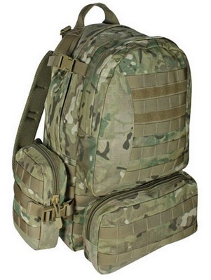 Multicam Camo Hydration Backpack Compact Modular