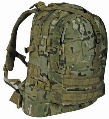 Tactical Military Transport Pack Large Multicam