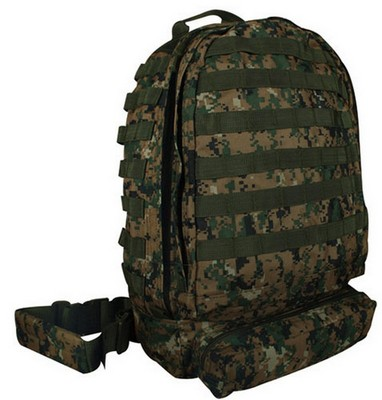 Digital Woodland Camouflage 3-Day Assault Pack