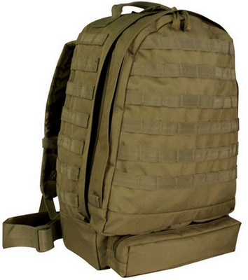3-Day Assault Packs Coyote Brown Pack