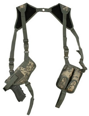 Army Digital Camo Ambidextrous Firearm Shoulder Holsters: Army Navy