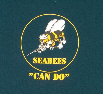 U S Navy Seabees Can Do Military T Shirt Army Navy Shop