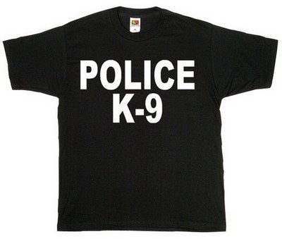 58ac78922332 Police K-9 Logo Raid T-Shirts Two-Sided  Army Navy Shop