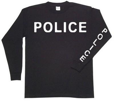 8cead2555 Police Raid Shirt Long Sleeve Dual Logo: Army Navy Shop
