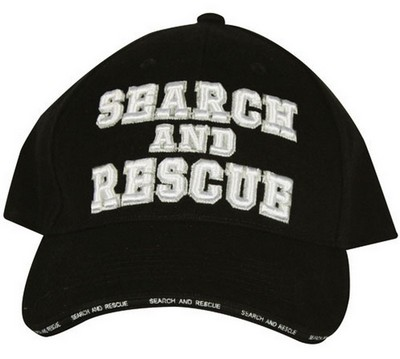 Search And Rescue Logo Baseball Cap Army Navy Shop