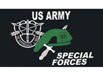 US Army Special Forces Banner 3X5