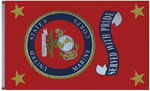 Marines Banner Served With Pride Flag