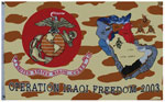 USMC Banners Operation Iraqi Freedom Banner