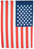 Large American Flag Vertical Banner