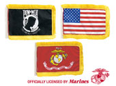 American And Military Antenna Flags