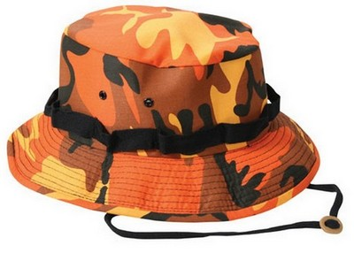 Military Jungle Hat Savage Orange Camouflage Army Navy Shop