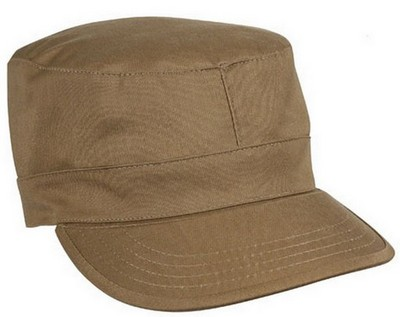 Military Fatigue Caps Coyote Brown Cap