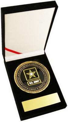 Challenge Coin-Army 3.5&Quot Medallion