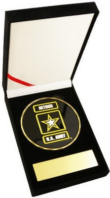 Challenge Coin-Army Retired 3.5&Quot Medallion