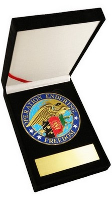Challenge Coin-OEF W/ Eagle 3.5&Quot Medallion