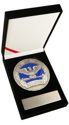 Challenge Coin-Air Force Colonel 3.5&Quot Medallion