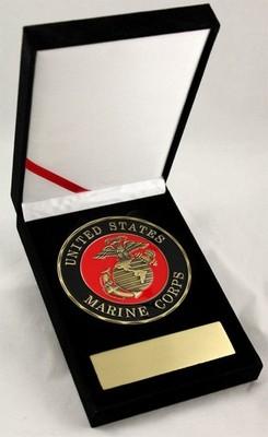 Challenge Coin-United States Marine 3.5&Quot Medallion