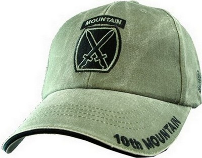 Cap 10th Mtn Division Od Green Army Navy Shop