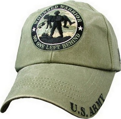 Cap Wounded Warrior Od Green Army Navy Shop