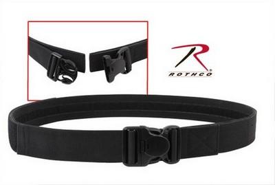 Black Deluxe Triple Retention Tactical Duty Belt