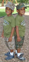 kids camouflage clothing